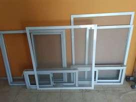 Ventanas y Mosquiteras de aluminio