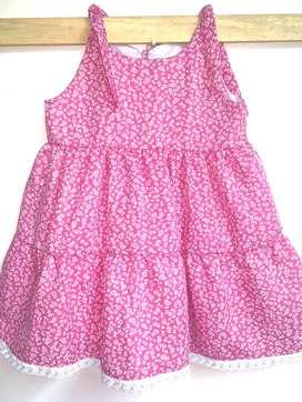 Vestido Niña Rosado