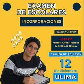 Preparación Examen de Escolares - ULIMA