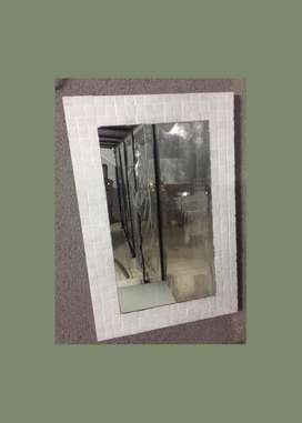 Espejo 40x60 Cm Venecitas Belgrano Caba