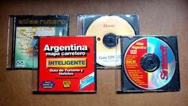 Software de mapas carreteros en CD