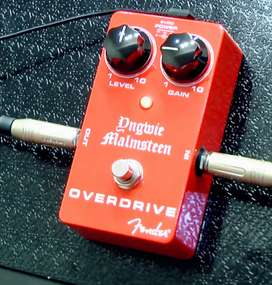 Pedal Overdrive Fender Yngwie Malmsteen