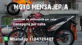 Moto Mensajeria por Caba Y Transporte