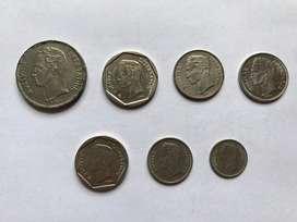 Venezuela lote de monedas