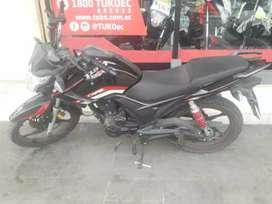 Moto tuko CR1 de 150cc con panel digital de segunda en buen estado