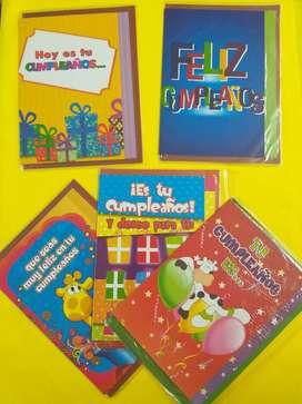 TARJETAS DE CUMPLEAÑOS AMOR MADRES DISCULPASY MUCHO MAS.