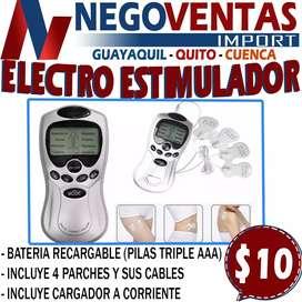 ELECTRO ESTIMULADOR DE PARCHE PARA TERAPIA