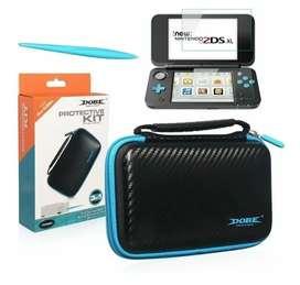 Kit Accesorios Nintendo New 2DS XL