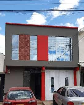 vendo casa con 2 apartamentos independientes. .con garage.