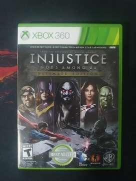 Injustice Xbox 360 y Xbox one