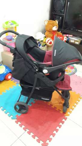 vendo o permuto coche de bebe