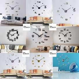 Decora tu espacio, reloj de pared +diseños
