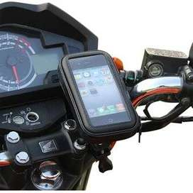 ESTUCHE CELULAR O GPS  MOTO O BICICLETA