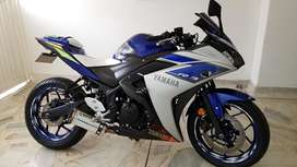 Yamaha R3 2016 Hermosa con Pipeta Slain