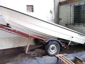 Lancha Tarrab 4.6  Pescadora con Trailer