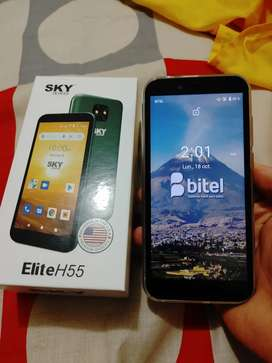 En venta celular android SKY como nuevo de ocasion