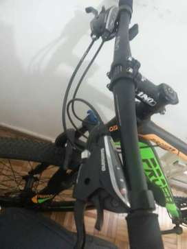 Bicicleta 29 profile