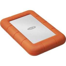 Disco duro externo Rugged Mini USB 3.0 de LaCie de 4 TB