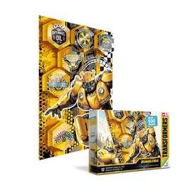 Rompecabezas 500 Piezas Transformers Bumble Bee 3d Poster