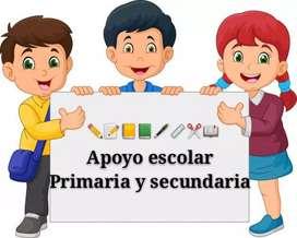 Apoyo escolar primaria y secundaria