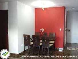 VENTA DE DEPARTAMENTO, LOS PARQUES DE PIURA