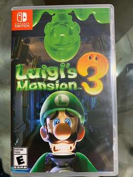 Luigis Mansion 3 como nuevo