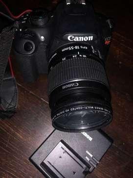 Vendo Camara Fotos Canon Rebel T5 Exc Estado + accesorios