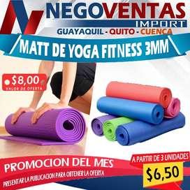 MATT DE YOGA FITNESS 3MM
