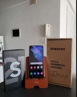 Samsung s21 256gb nuevo aceptamos tarjetas