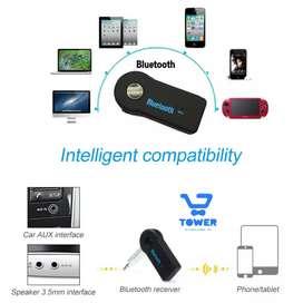 Adaptador Inalámbrico Bluetooth receptor Audio de AUX para Vehículos, etc