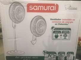 Ventilador Samurai Air Protec Eco 2 en 1
