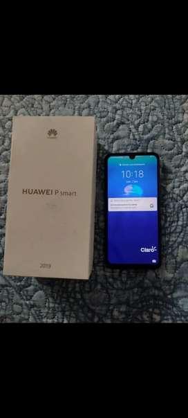 Vendo Celular Huawei P Smart 2019, estado 9/10, precio negociable