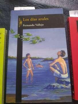 Los días azules. Fernando Vallejo
