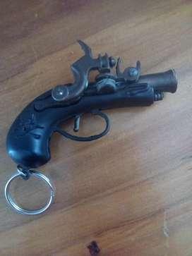 Pistola de Tapa de Juguete de Metal Anti