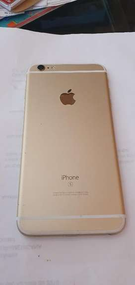 Vendo iPhone 6s Plus de 64gb Color Oro