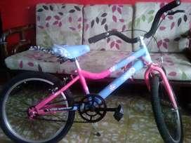 Se vende bicicleta de niña en buen estado