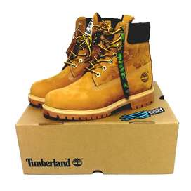 Botas Timberland A Bathing Ape x Undefeated x 6 Inch 'Wheat'