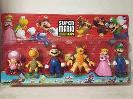 Set de Muñecos Super Mario Bros