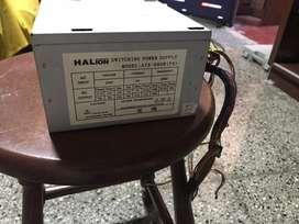 Fuente pc halion USADAS