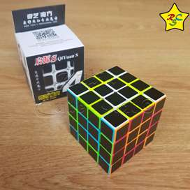 Qiyi Cubo Rubik 4x4 Carbono Stickerless Cobra Profesional