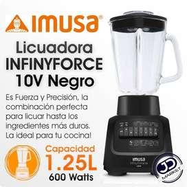 Licuadora IMUSA Infinity Force 10, NUEVA y en caja!