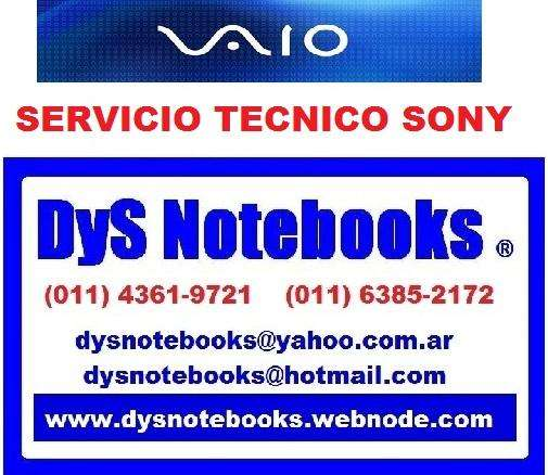 SONY REPARACION NOTEBOOK LAPTOP NETBOOK EXCLUSIVO VENTA REPUESTOS 0