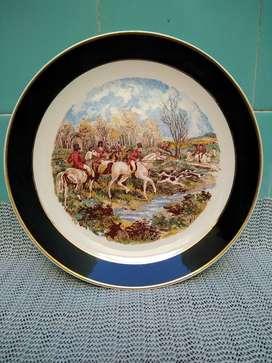 Antiguo plato para decoración manchester