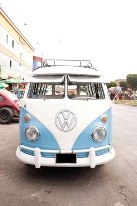Kombi Volkswagen T1, Safari de colección clásico, 1974, en buen estado, $ 10200 (negociable). Solo para conocedores.