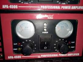 amplificador audiopipe apa 4500