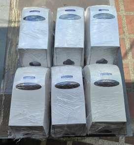 Dispensadores toallas de papel