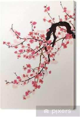 Cuadro de sakura
