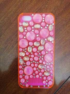Funda protectora para iPhone 5 de Victoria Secret-Línea Pink