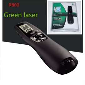 Logitech R800 laser verde