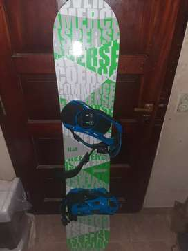Snowboard+fijaciones+funda NEGOCIABLE